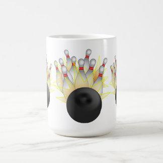 STRIKE! Bowling Ball And Pins Coffee Mug