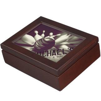 Strike!/Bowling Player's Custom Keepsake Box