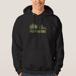 "Strike ""Fight Nature"" Hooded Sweat Shirt"