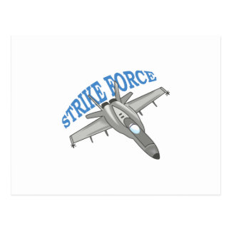 STRIKE FORCE POSTCARD