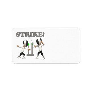 Strike Label