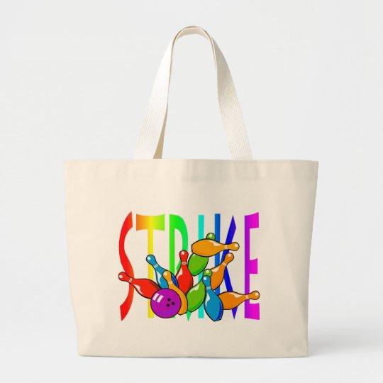 Strike Large Tote Bag