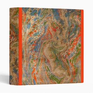 Strike marbled binder