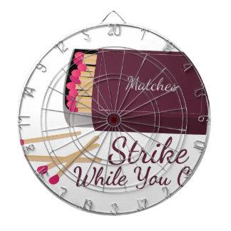 Strike Match Dartboard With Darts