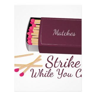Strike Match Letterhead