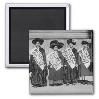 Strike of the Ladies Tailors, 1910 2 Inch Square Magnet