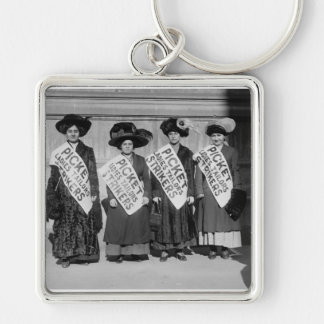 Strike of the Ladies Tailors 1910 Keychain
