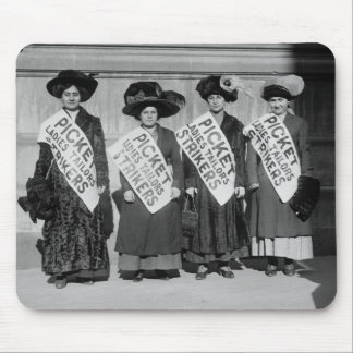 Strike of the Ladies Tailors 1910 Mouse Pads