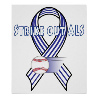Strike our Amyotropic Lateral Sclerosis ALS Poster