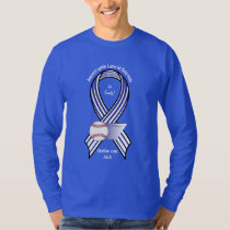 Strike out ALS Name Customizable T-Shirt
