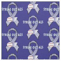 Strike Out Amyotropic Lateral Sclerosis ALS Fabric