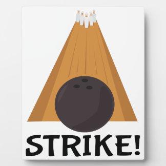 Strike! Plaque