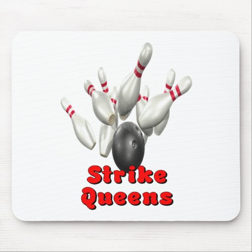 Strike Queens Mouse Pad
