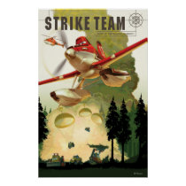Strike Team Illustration Poster