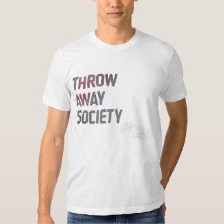 "Strike ""Throw Away Society"" T-shirt"