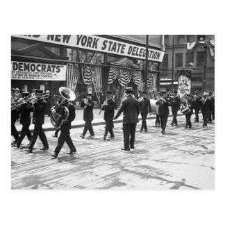 Strike Up the Band: 1916 Postcard