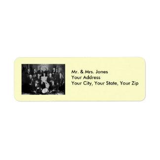 Strike Up the Band - Vintage Orchestra Label
