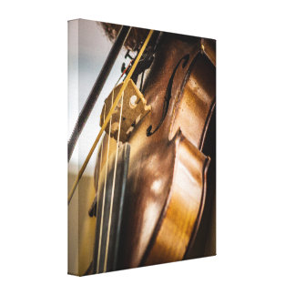Strike Up The Bow Canvas Print