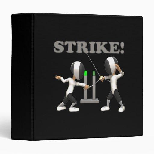 Strike Vinyl Binder