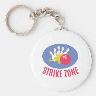 Strike Zone Keychain