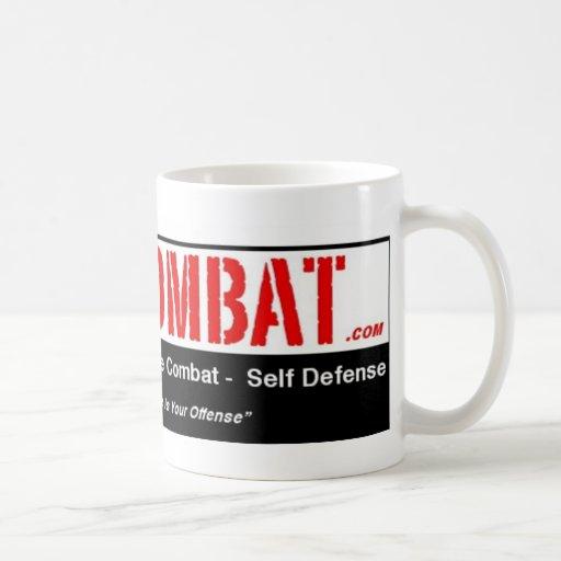 strikeCombat T-Shirt Classic White Coffee Mug