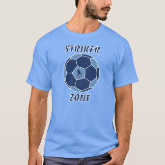 Striker Zone by J-Mo-Net-LT BLUE/DK BLUE T-Shirt