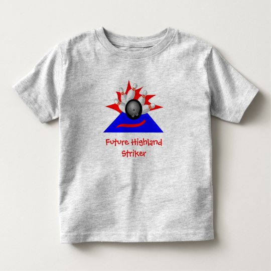 Strikers, Future Highland Striker - Customized Toddler T-shirt