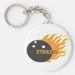 Strikers Orange Keychains