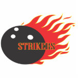 Strikers Red keychain Photo Cut Out