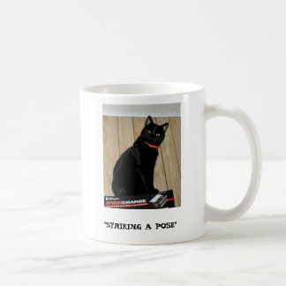 "Striking A Pose, ""STRIKING A POSE"" Coffee Mug"