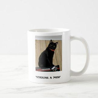 """Striking A Pose, """"STRIKING A POSE"""" Coffee Mugs"""