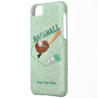 Striking Baseball Home Sweet Home Plate Design iPhone 5C Case