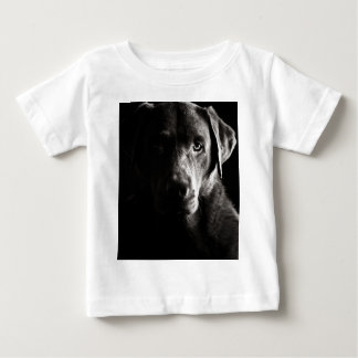 Striking Low Key Labrador Baby T-Shirt