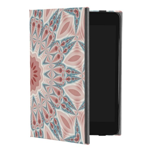 Striking Modern Kaleidoscope Mandala Fractal Art iPad Mini 4 Case