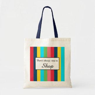 Striking Stripes Tote Bag