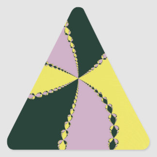 Striking Triangle Sticker