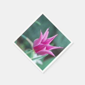 Striking Tulip Paper Napkin