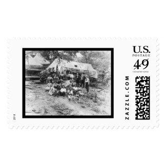 Striking West Virginia Miners 1922 Postage Stamps