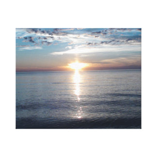 Strikingly Beautiful Photograph of the Sunset Canvas Print