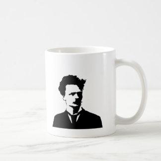 Strindberg in Silhouette Coffee Mug