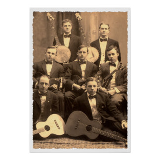 String Band Poster