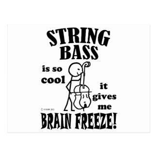 String Bass, Brain Freeze Postcard