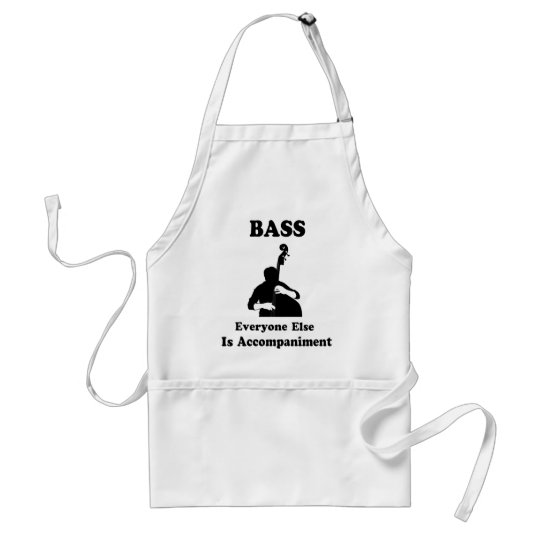 String Bass Gift Adult Apron