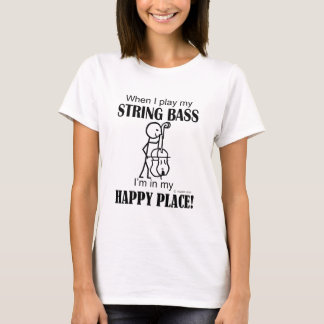 String Bass Happy Place T-Shirt
