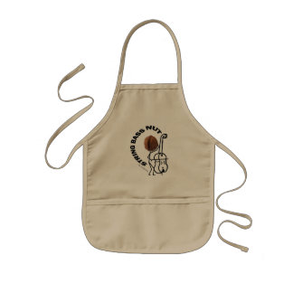 String Bass Nut Kids' Apron