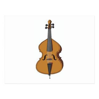 String Bass Postcard