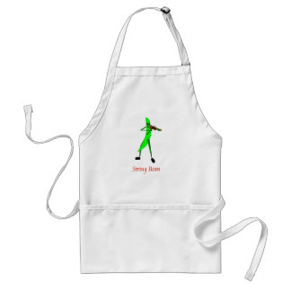 String Bean Adult Apron