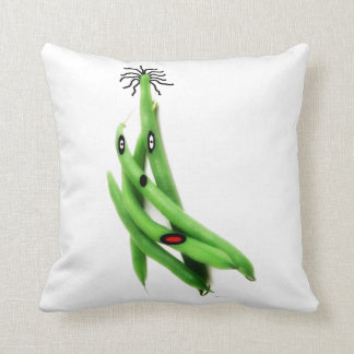 String Bean Cartoon Pillows