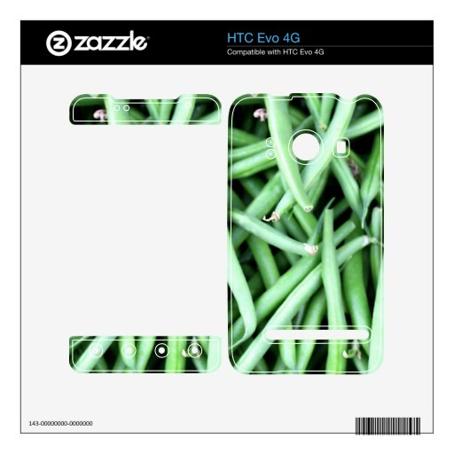 String Beans Decals For HTC Evo 4G