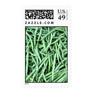 String Beans Postage Stamp